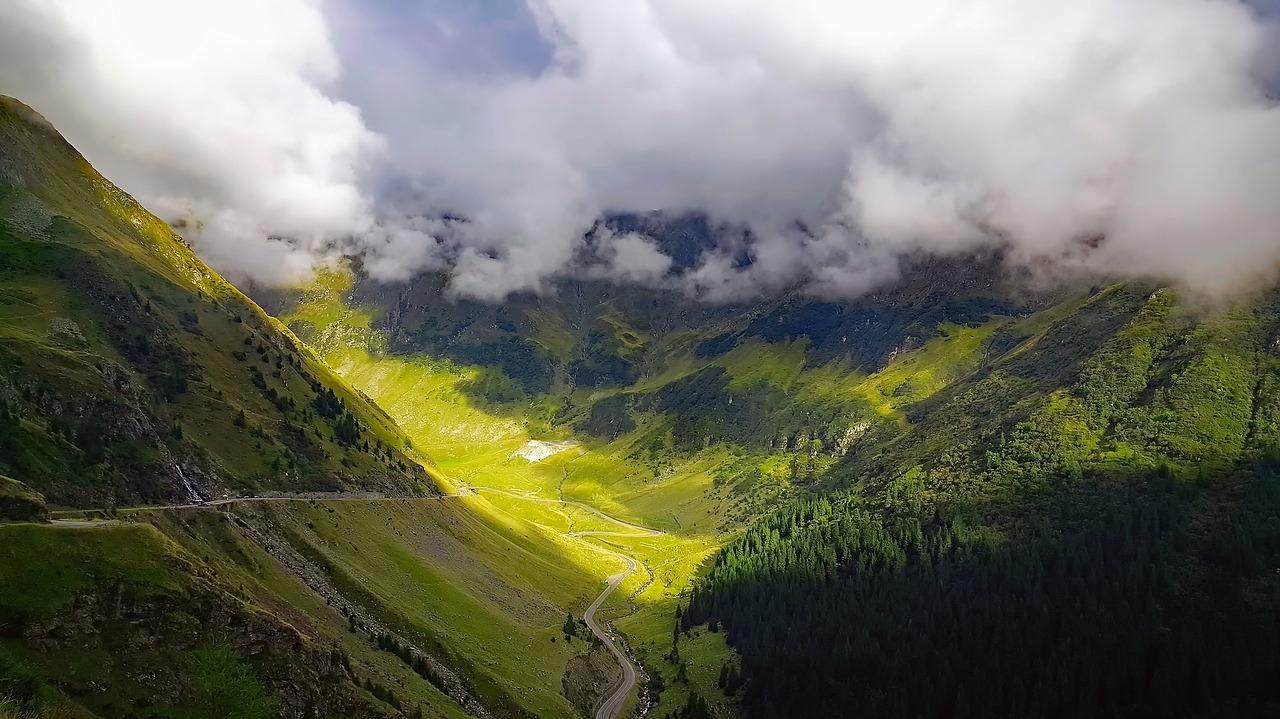 paysage de roumanie